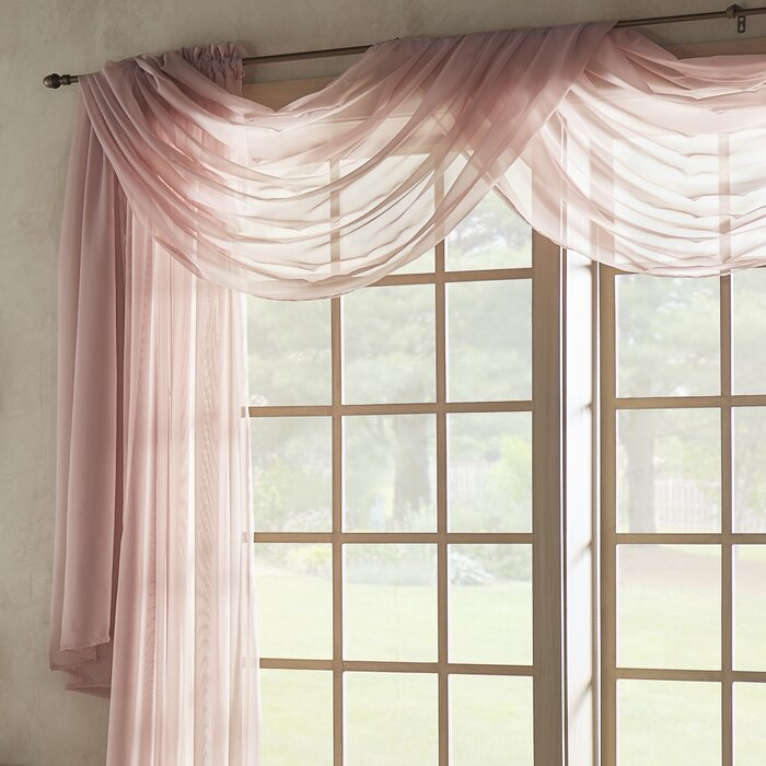 chocolate b depot home the compressed waterfall window l curtain scarves jane valances treatments valance grommet n elements faux silk