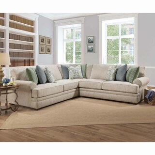 Whetsel Symmetrical Sectional by Charlton Home SKU:BA444678 Check Price