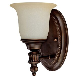 Affordable Price By ard 1-Light Wall Sconce By Fleur De Lis Living