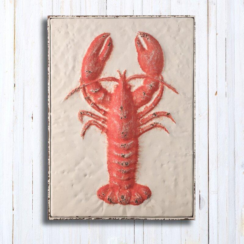 Breakwater Bay Lobster Wall Décor Wayfair