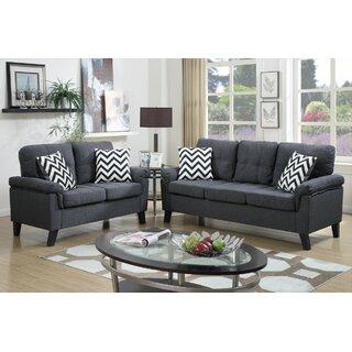 Whitmore 2 Piece Living Room Set by Ebern Designs SKU:DE693396 Price Compare