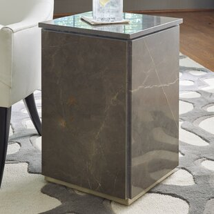 Graffito Marble End Table