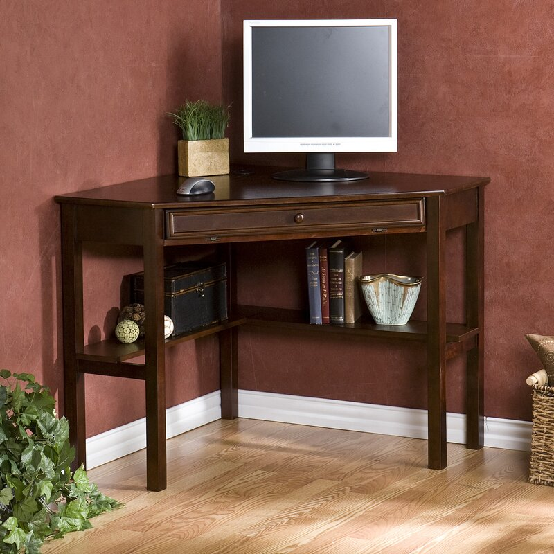 decor corner l with dark only shaped also oak staples for rustic small desks desk computer hutch