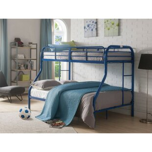 Summerdale Contemporary Style Metal Twin Over Full Bunk Bed