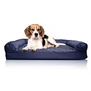 Quilted Orthopedic Sofa Style Dog Bed