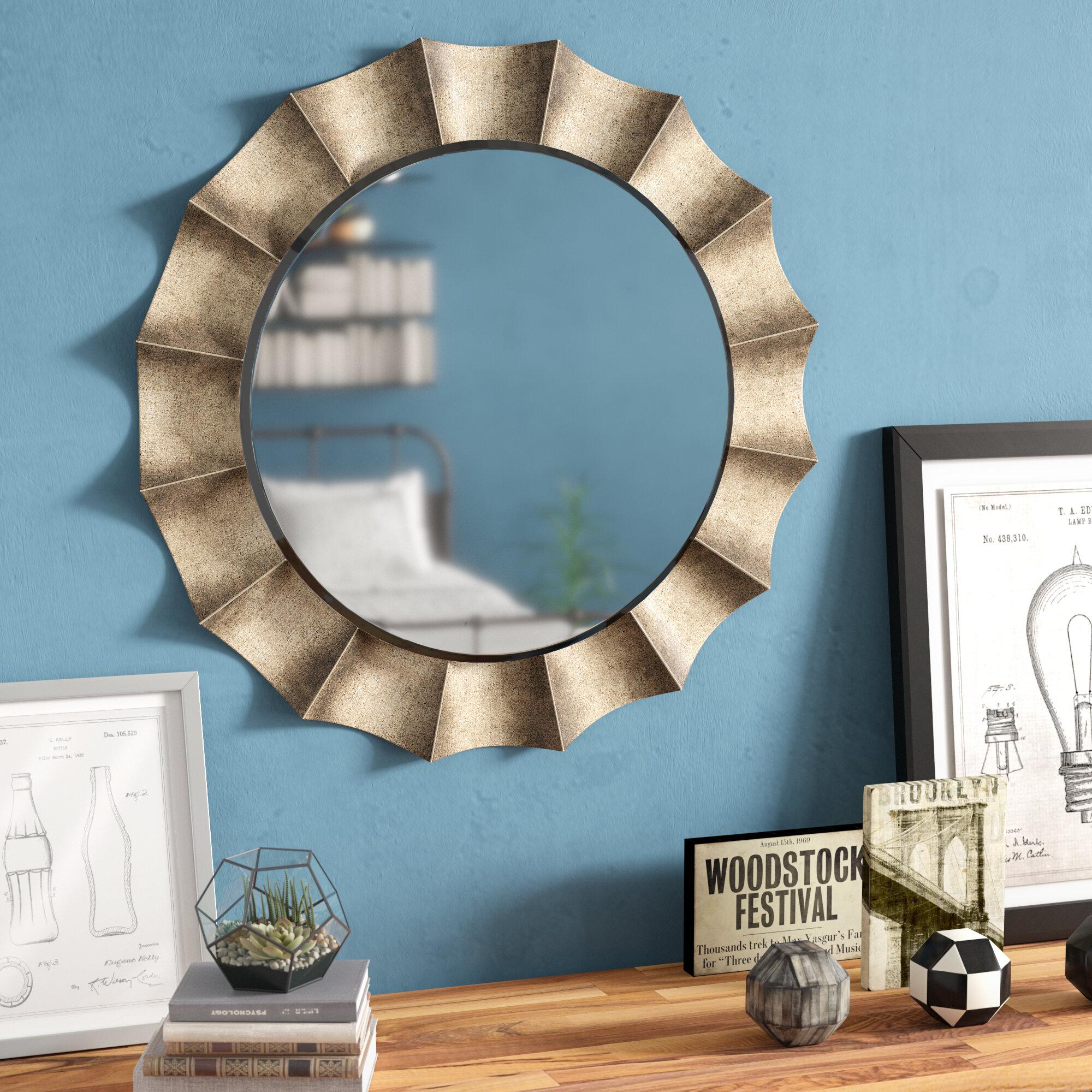 Trent Austin Design Manuel Vertical Round Wall Mirror Reviews Wayfair