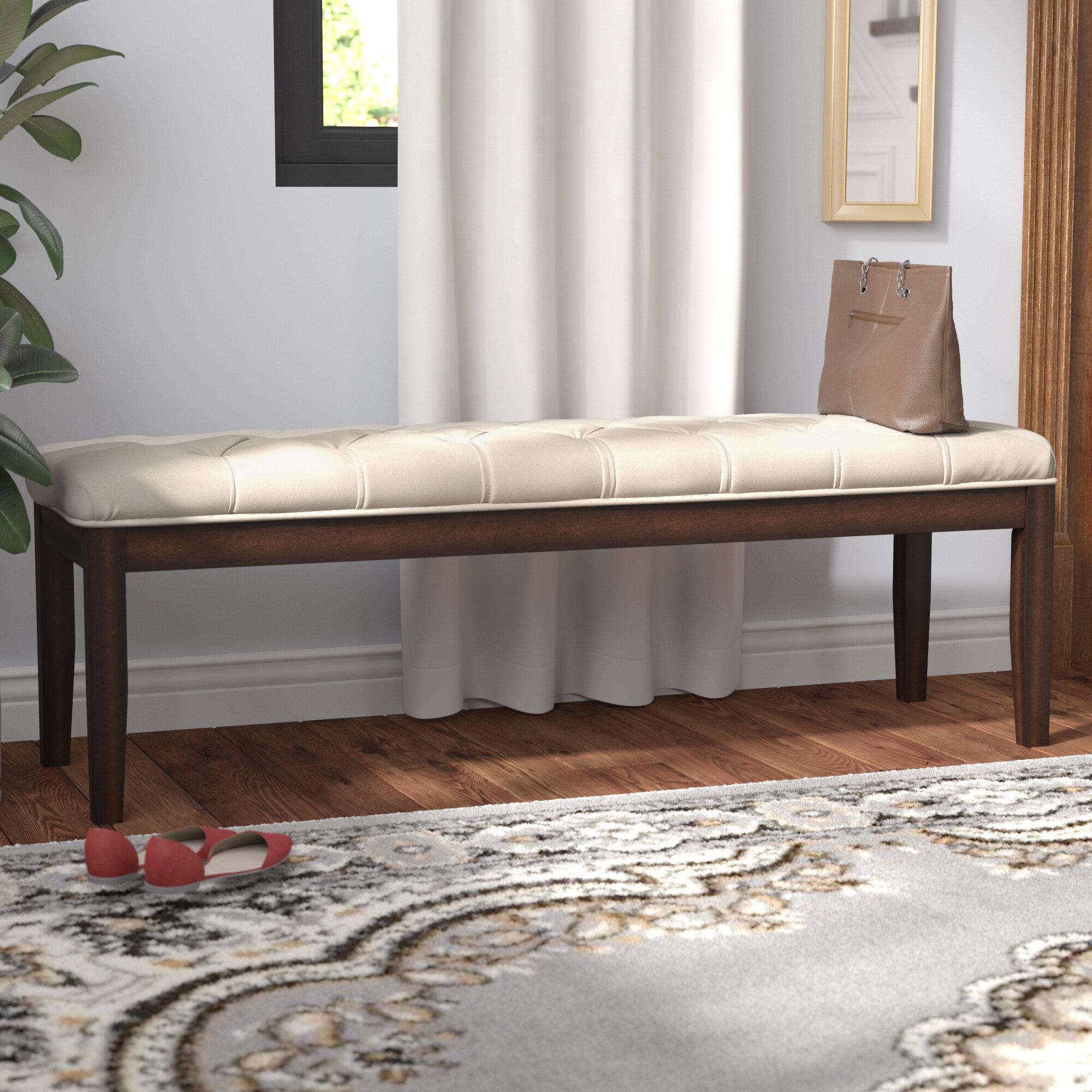 Wondrous Neumann Upholstered Bench Creativecarmelina Interior Chair Design Creativecarmelinacom