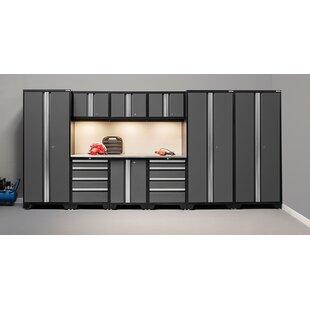 Bold 3.0 Series 10 Piece Garage Storage Cabinet Set with Worktop by NewAge Products