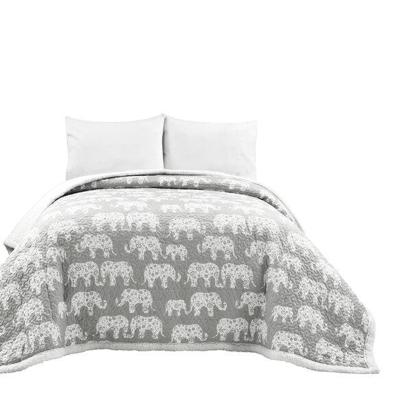 Elephant Sherpa Blanket Wayfair