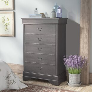 Labrecque 5 Drawer Dresser by Laurel Foundry Modern Farmhouse