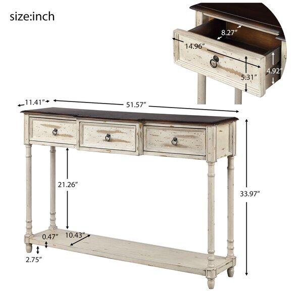 Longshore Tides Elwell 51 57 Console Table Wayfair