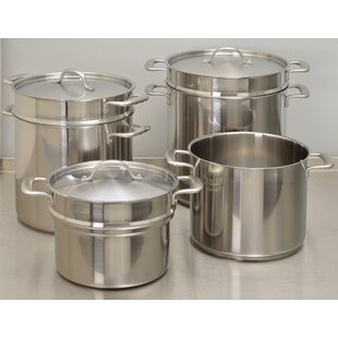 Double Boiler Stock Pot with Lid