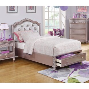 Escalante Upholstered Panel Bed by Harriet Bee