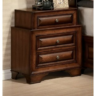 Mcnair 3 Drawer Nightstand by Canora Grey