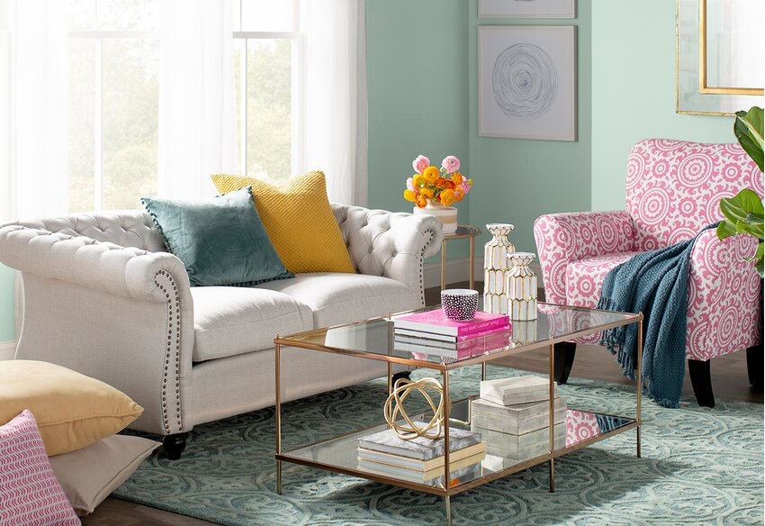 Small Space Living Rooms You\'ll Love in 2019 | Wayfair