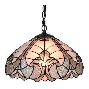 Tiffany Style 2-Light Pendant