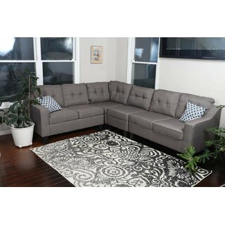Althoff Right Hand Facing Modular Sectional by Red Barrel Studio SKU:BC226096 Description