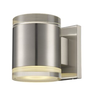 Fricke 1-Light LED Armed Sconce by Orren Ellis