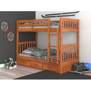 Find Trumble Twin Over Twin Bunk Bed with Drawers by Viv + Rae Reviews (2019) & Buyer's Guide