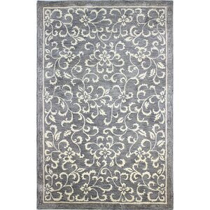 Danforth Hand-Tufted Grey Area Rug