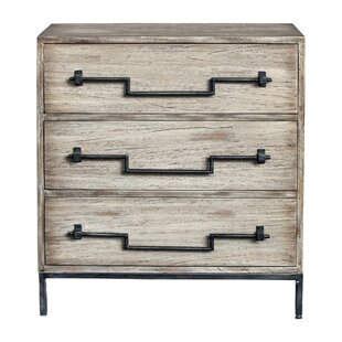 Raphael 3 Drawer Accent Chest by Gracie Oaks