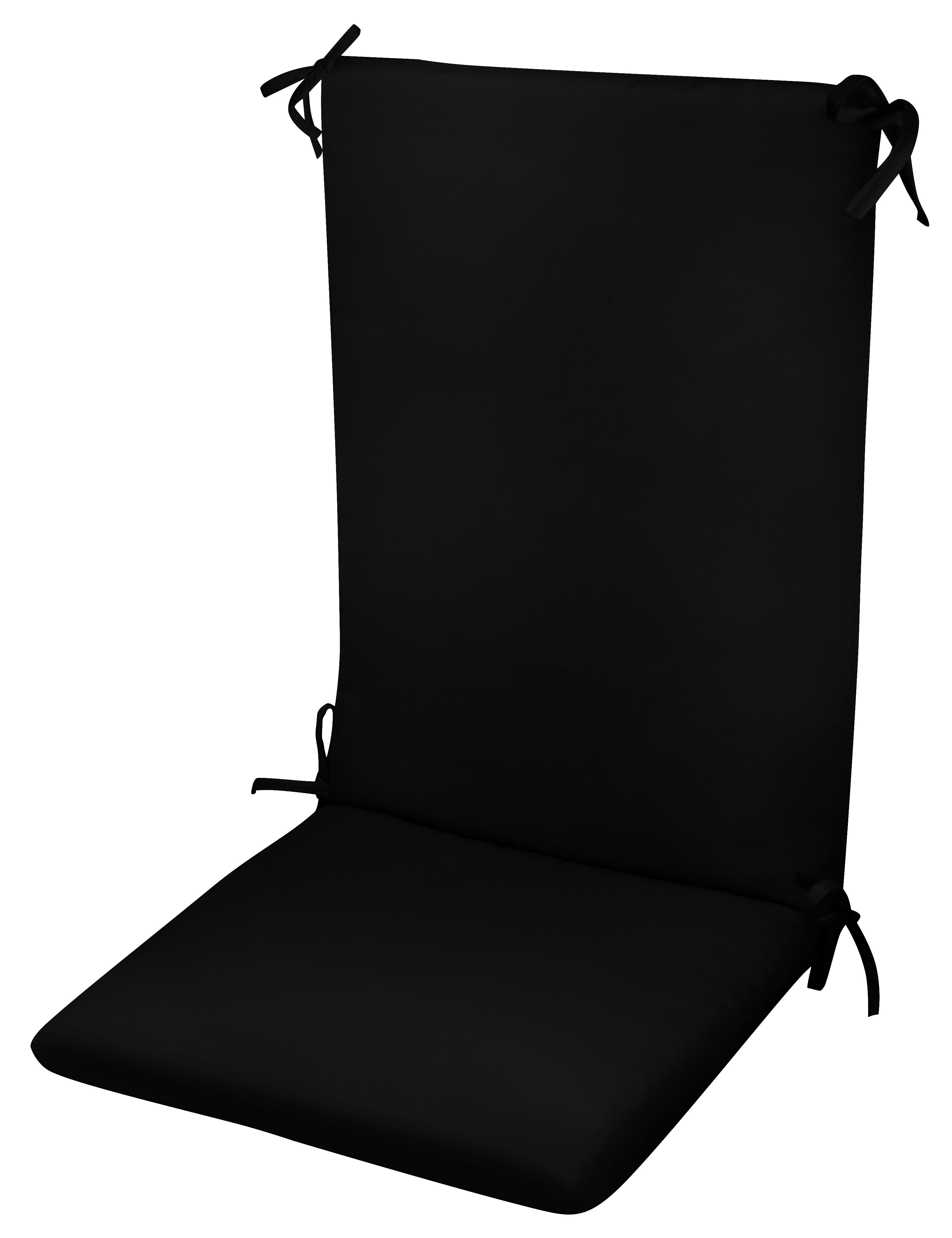 High Back Indoor/Outdoor Dining Chair Cushion