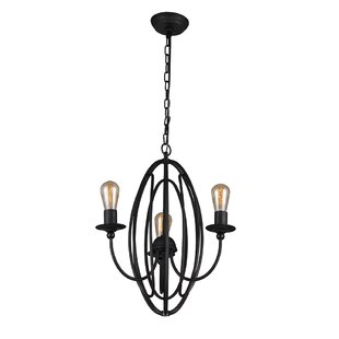 Williston Forge Contemporary 3-Light Cand..