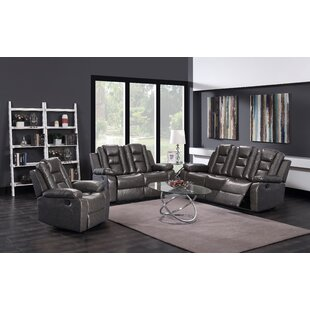 Check Prices Bunsley 3 Piece Reclining Living Room Set by Winston Porter Reviews (2019) & Buyer's Guide
