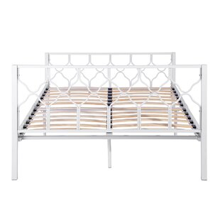 Heyer European Double (140 X 200cm) Bed Frame By Brambly Cottage