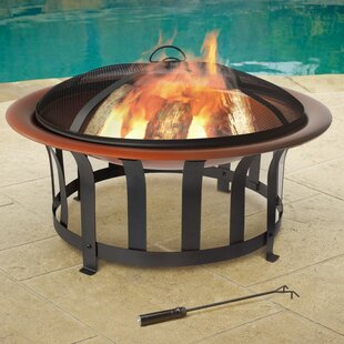 Jeco Inc. Bowl Steel Fire Pit
