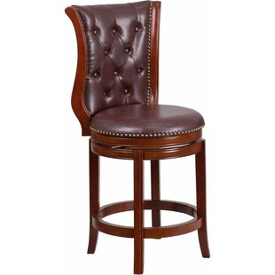 Darby Home Co Millerstown 27'' Swivel Bar Stool