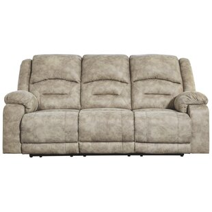 Zenobia Reclining Sofa with ADJ Headrest