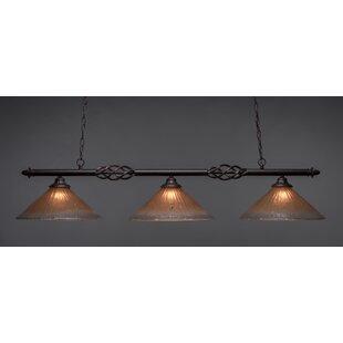 Astoria Grand Pierro 3-Light Billiard Light
