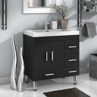 Compare prices Waldwick 29 Single Bathroom Vanity Set By Wade Logan