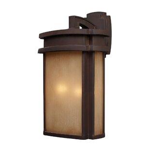 Loon Peak Carriage Club 2-Light Outdoor Wall Lantern