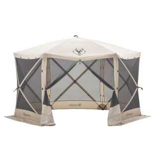 Gazelle 10.5 Ft. W x 10.5 Ft. D Fiberglass Pop-Up Gazebo