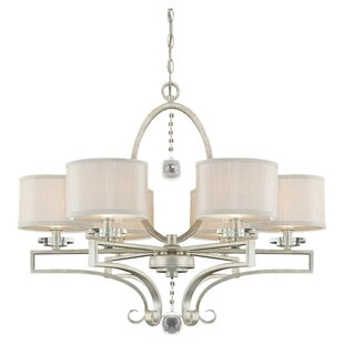 Willa Arlo Interiors Beasley 6-Light Shaded Chandelier