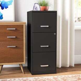 Botkins 3 Drawer Vertical Filing Cabinet