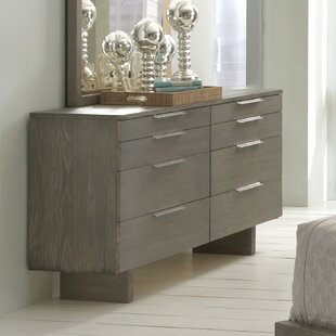 Orren Ellis Mell 8 Drawer Double Dresser