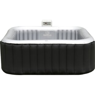 Mariano 4-Person 108-Jet Inflatable Spa With Cover By Freeport Park
