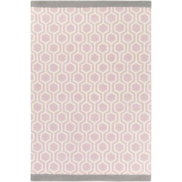 Artistic Weavers Hilda Eva Hand Crafted Light Pink/Gray Area Rug U0026 Reviews  | Wayfair