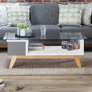 Alijah Coffee Table with Storage