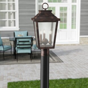 Mayhugh Outdoor 3-Light Lantern Head
