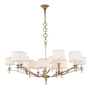 Everly Quinn Gwendolen 15-Light Shaded Chandelier