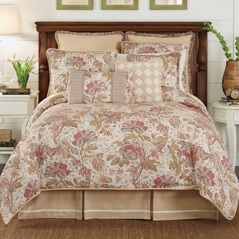 c03db74b7df7 Croscill Camille 4 Piece Comforter Set & Reviews | Wayfair