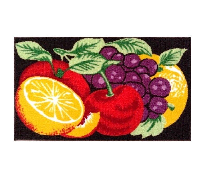 August Grove Augie Yummy Fruits Kitchen Mat Reviews Wayfair