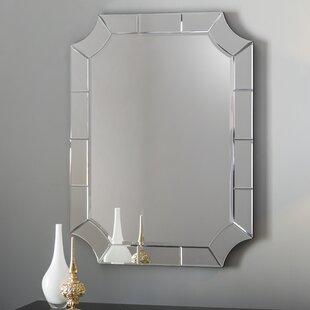 Willa Arlo Interiors Scalloped Corner Wall Mirror