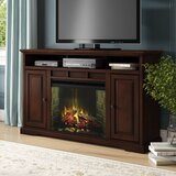 Legrand TV Stand for TVs up to 70 with Electric Fireplace Included by Darby Home Co