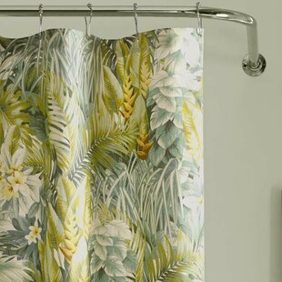 Cuba Cabana Cotton Single Shower Curtain