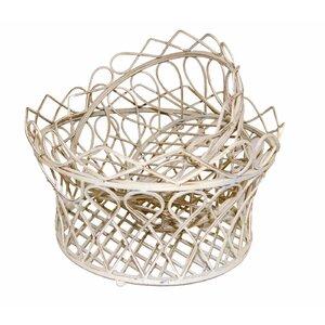 2-tlg. Korb-Set Wilton aus Metall von Ascalon